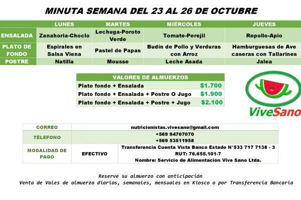 MINUTA SEMANAL 23-26 OCTUBRE-001
